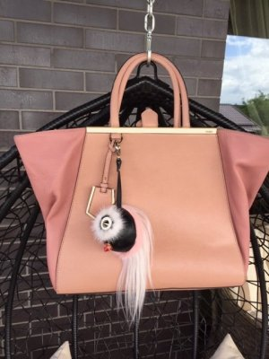 Fendi Tote light pink-pink