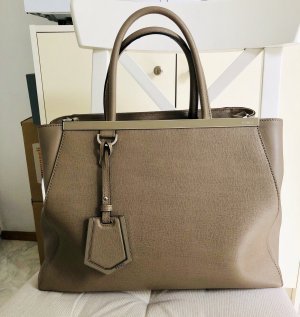 FENDI 2Jours Vitello Handtasche, Shopper, wie neu