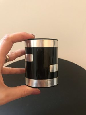 Fendi Bangle zwart-zilver