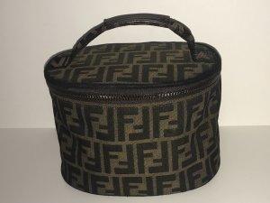 Fendi Make-up Kit brown-black leather