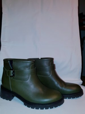 Fendi Short Boots olive green