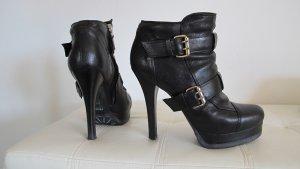 """""""FENDI"""" Boots schwarz / gold Gr. 40 NP ca. 1.000,-€"""