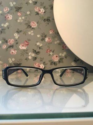 Fendi Brille schwarz mit Steinchen