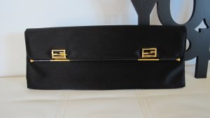 Fendi Borsa clutch nero-oro