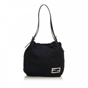 Fendi Cotton Shoulder Bag