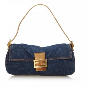 Fendi Denim Mamma Baguette