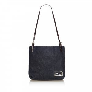 Fendi Denim Shoulder Bag