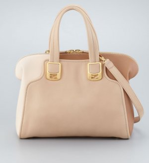 Fendi Duffle Bag Chameleon natural  Beige Gold