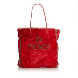 Fendi Tote red