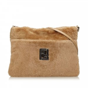 Fendi Fur Crossbody Bag
