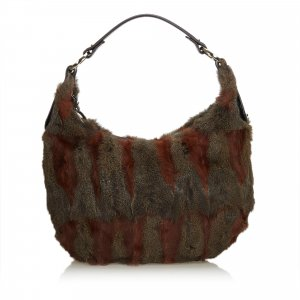 Fendi Fur Hobo Bag