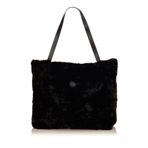 Fendi Tote black fur