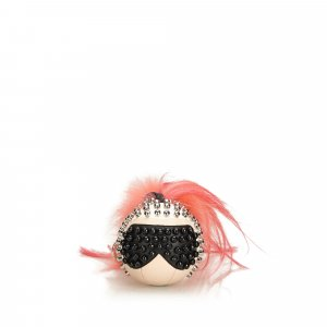 Fendi Fur-Trimmed Punkarlito Bag Charm