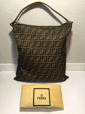 FENDI Handtasche mit Monogramm-Muster