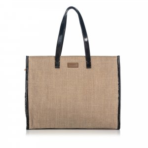 Fendi Hemp Tote Bag