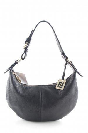 Fendi Carry Bag black-gold-colored casual look