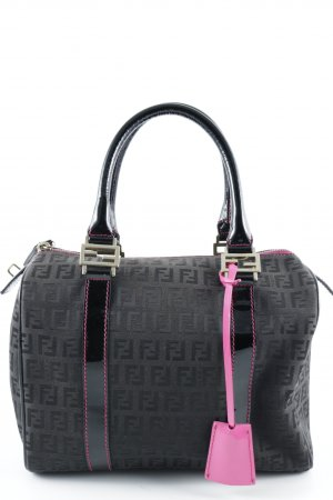 Fendi Carry Bag black-pink elegant
