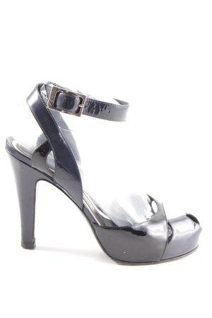Fendi High Heel Sandaletten schwarz Business-Look