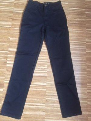 Fendi Pantalon strech noir tissu mixte