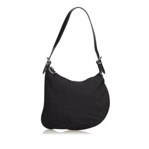 Fendi Jacquard Animal Print Oyster Bag