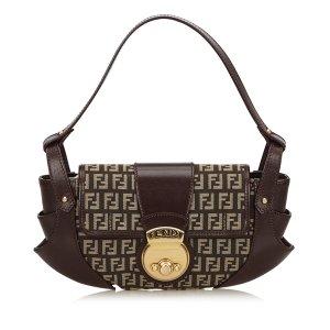 Fendi Jacquard Compilation Bag
