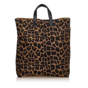 Fendi Jacquard Tote Bag