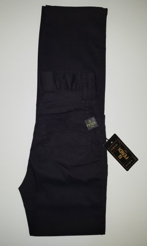 FENDI Jeans Brezo Stretch Hose Slim Fit Schwarz