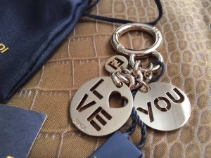 FENDI KEYRING MIT CHARMS - Valentine's day collection limited edition