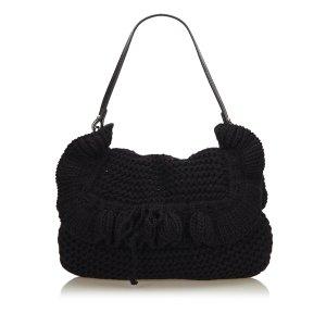Fendi Knit Chef Shoulder Bag