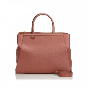 Fendi Leather 2 Jours Satchel