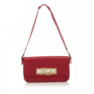 Fendi Leather 3 Baguette