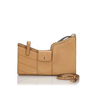 Fendi Leather 3 Pockets Mini Crossbody Bag