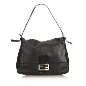 Fendi Leather Baguette