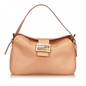 Fendi Leather Baguette