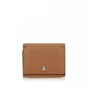 Fendi Leather Card Holder
