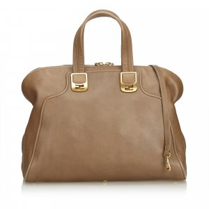Fendi Leather Chameleon Satchel