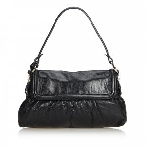 Fendi Leather Chef Baguette