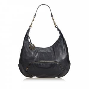 Fendi Leather Chef Hobo Bag
