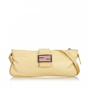 Fendi Leather Crossbody Bag