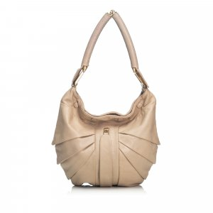 Fendi Leather Hobo Bag