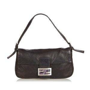 Fendi Leather Mamma Baguette