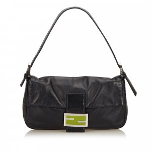 Fendi Leather Mamma Baguette
