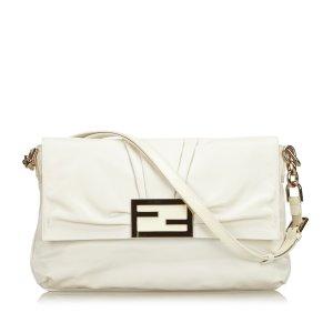 Fendi Leather Mia Flap Bag