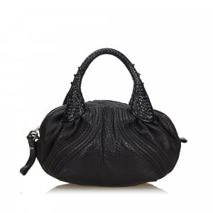 Fendi Leather Mini Spy Handbag