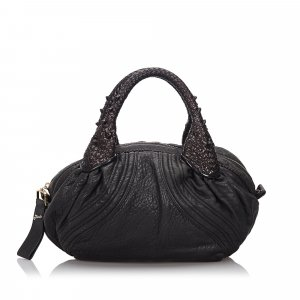Fendi Leather Mini Spy Hobo Bag