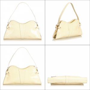 Fendi Leather Selleria Baguette