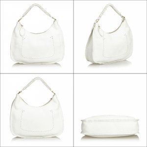 Fendi Leather Selleria Hobo Bag