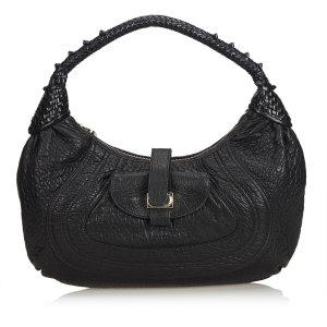 Fendi Leather Spy Hobo Bag