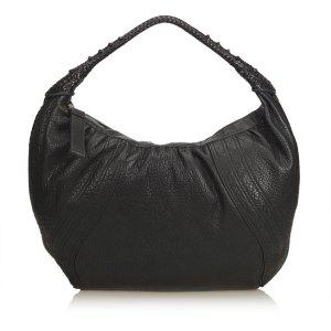 Fendi Hobos black leather