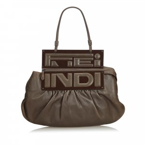 Fendi Leather To You Convertible Handbag